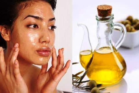 Очищение сухой кожи маслом