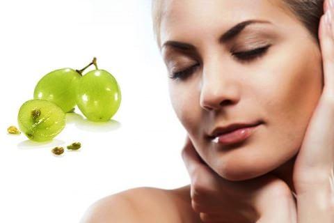 Маска для лица в домашних условиях с виноградом
