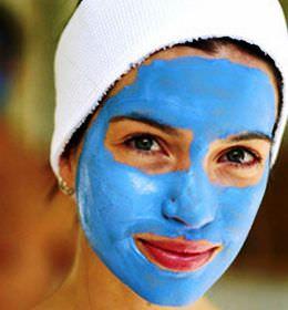маски из голубой глины для роста волос
